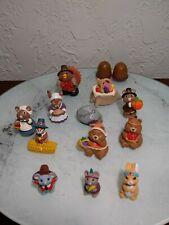 Hallmark - Merry Miniatures - Thanksgiving lot of 12 plus Acorn salt and pepper