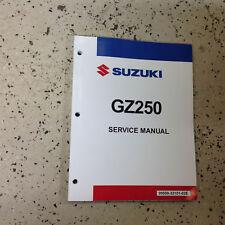 1999 2000 2001 2002 2003 2004 2005 2006 Suzuki GZ250 Service Repair Manual NEW
