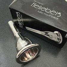 Genuine Conn Helleberg Silver Tuba/Sousaphone Mouthpiece, 7B NEW! Ships Fast!