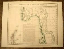 L'EMPIRE BIRMAN BIRMANIE Carte géographique d'Asie VANDERMAELEN 1827 antique map
