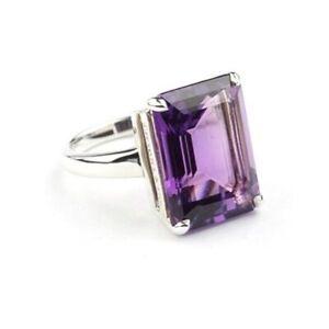 Tiffany & Co Amethyst Sparkler Ring Size 7