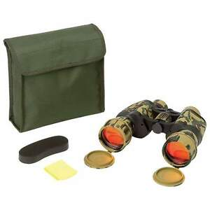 OpSwiss® High Quality 10x50 Camo Binoculars With Strap & Case
