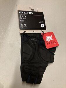 ! Giro JAG Adult Large Cycling MTB Bike Gloves Black