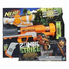 Brand New NERF Zombie Strike CLEAR SHOT Dart Blaster
