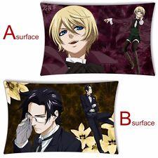Anime Black Butler Alois Trancy& Luka Macken Dakimakura Cushion Pillow Cover 2WT