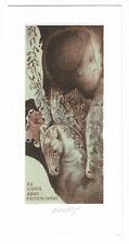 BOHUMIL KRATKY: Exlibris für Arno Piechorowski, Pegasus