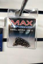 Swivels - Max Performance Barrell Swivels size 10