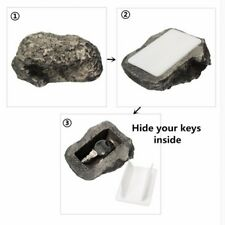 Hide A Key Realistic Rock Safe Diversion Outdoor Holder Hider Real Stone Look AU