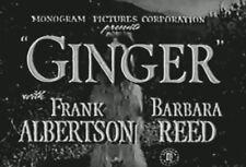 GINGER (1946) DVD FRANK ALBERTSON, BARBARA READ