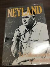 Neyland: The Gridiron General Bob Gilbert Golden 1st Ed. Signed By Author 1990