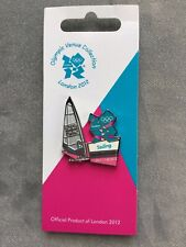 Sailing Venue Pin Badge | London 2012 Olympic Games