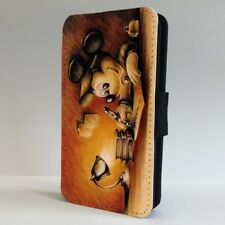 Mickey Mouse Disney Sketch FLIP PHONE CASE COVER for IPHONE SAMSUNG
