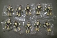 Mega Bloks Construx Halo UNSC Marine Troop 10 action figures lot *New Sealed*