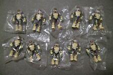 Mega Bloks Construx Halo UNSC Marine Troop 10 action figures lot *New Sealed*