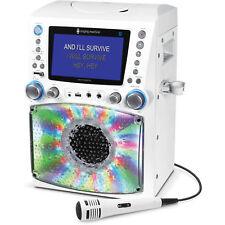 "Singing Machine STVG785BTW Bluetooth Karaoke System with 7"" Color Monitor"
