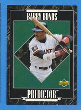 1995 Upper Deck Predictor LL Exchange #R7 Barry Bonds Giants