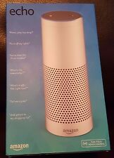 Amazon Echo White Alexa Far-Field Voice Bluetooth Wifi Assistant Gift Brand New