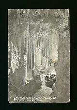 Saracen's Tent,-Cavern's of Luray, Va. - Copyright 1906 - One Cent Stamp Box