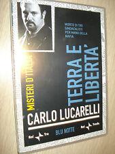 DVD N°23 TERRA E LIBERTA' MORTE MAFIA MISTERI D'ITALIA BLU NOTTE LUCARELLI