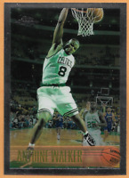 1996-97 Topps Chrome Antoine Walker Rookie Card #146 Boston Celtics