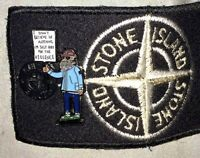 Banksy Style Ultras Pin Badge, Ala A Guy Called Minty, Casual   Connoisseur etc.