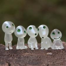 Lot de 5 Figurine Princesse Mononoke Arbre Lumineux Elfe Cadeau Studio Ghibli