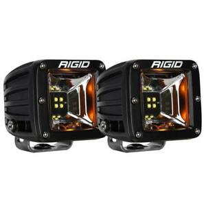 """Rigid® 68204 Radiance Scene Amber Backlight 3"""" LED Light Pods (Pair)"""