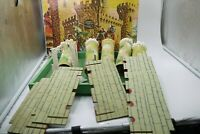VINTAGE 70'S TSOKAS TOYS GREEK WOODEN CASTLE BOXED