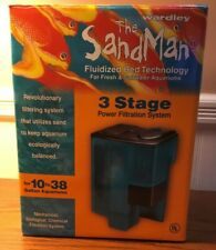 Wardley The Sandman Fluidized Bed Technology 3 Stage Power Filtration System