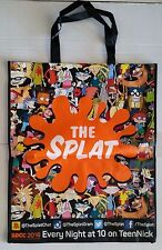 """SDCC Comic Con 2016 EXCLUSIVE THE SPLAT Tote Bag RUGRATS ARNOLD swag bag 23""""x28"""""""