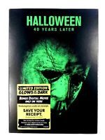 "Halloween ""40 Years Later"" DVD NEW SEALED w/ Glow In The Dark Slip Cover Lim Ed."