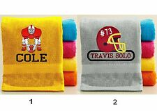 PersonalizedTowel with FREE Custom Embroidery - Sports Theme Towel
