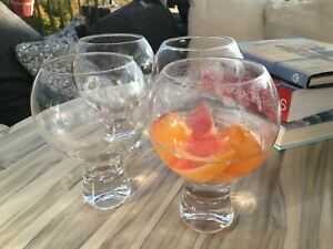 Gin and Tonic Drinking Glasses Set 4