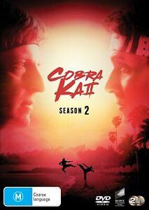 COBRA KAI - SEASON 2 (DVD) REGION 4 - BRAND NEW / SEALED