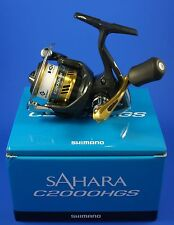 Shimano Sahara C2000HGS FI // SHC2000HGSFI // Front Drag Fishing Reel