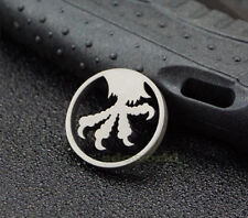Titanium TC4 Hawk's Claw Key Knife Parachute Cord Lanyard EDC Necklace DZ-05YZ