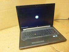 HP Elitebook 8760w Laptop i5 2.50Ghz / 4GB - missing hard drive PARTS/REPAIR
