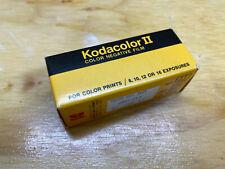 Vtg Kodak Kodacolor II Film Cartridge Sealed Exp 1982  Color Negative Film c120