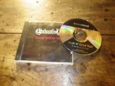 ENTOMBED - GODS OF GRIND ON TOUR !!!! RARE CD !!!!!!!