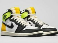 Air Jordan 1 Retro High OG Volt Gold Men's Lifestyle Casual Sneakers 555088-118