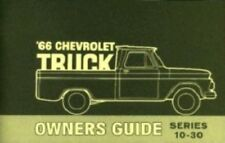 CHEVROLET 1966 Truck Owner's Manual 66 Chevy Pick Up