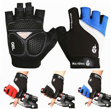 Breathable Cycling Gloves Bike Bicycle GEL Shockproof Sports Half Finger Glove