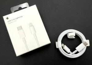 Original Apple USB C Lightning Câble Chargeur Rapide Data MacBook iPad iPhone
