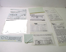 Mixed Lot Decal Set Train Car Accessory Ho Gauge Scale tr2044