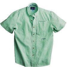 SALE TrueFlies Bokeelia Seersucker SS Shirt Spartina Sm NEW FREE SHIPPING