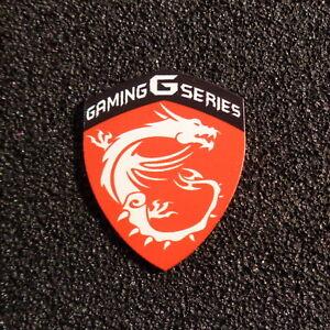 MSI Gaming G Series Label / Aufkleber / Sticker / Logo 33 x 27mm [441c]