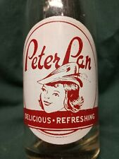 1948 Peter Pan 7oz acl soda bottle Buffalo Ny