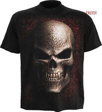 Short Sleeve T-Shirts Biker Spiral for Men