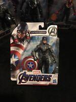 Marvel Avengers Endgame Captain America 6 Inch Action Figure