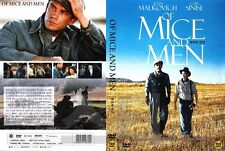 Of Mice and Men (1992) by John Malkovich NEW DVD NTSC, All Region